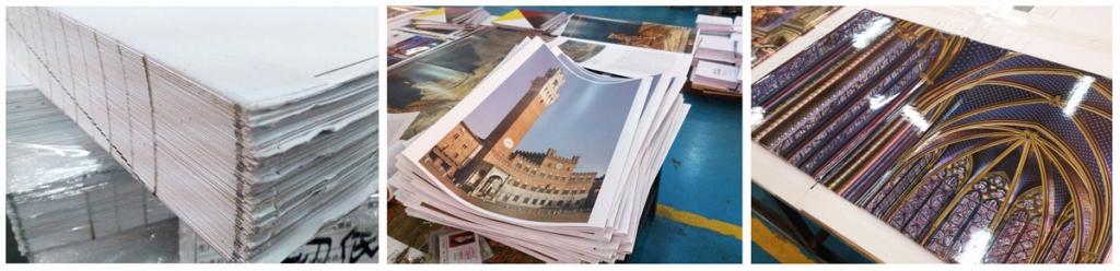 Herstellungsprozess der Bildbände