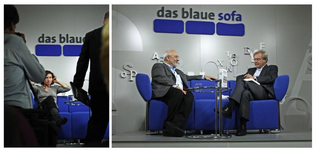 Autoreninterview - Blaues Sofa - Buchmesse Frankfurt