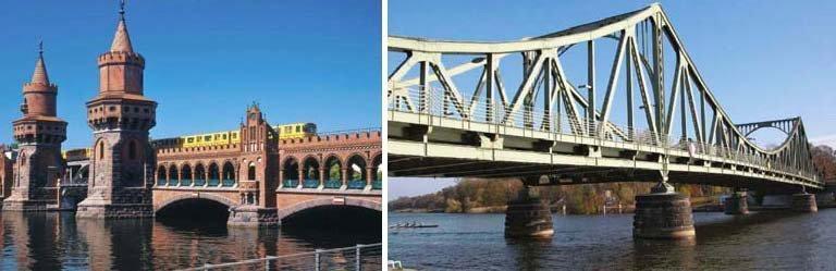 Oberbaumbrücke und Glienicker Brücke