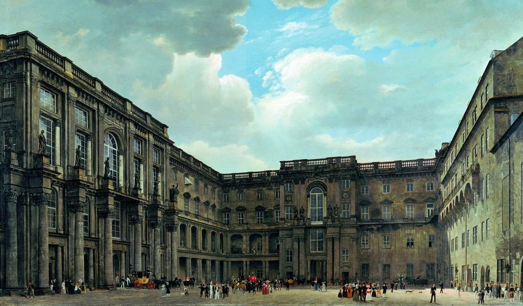 Obwohl die ehemalige Hauptresidenz des deutschen Kaisers seit 1918 als Museum fungierte, wurde es von der DDR-Führung abgerissen und durch den Bau des sozialistischen Palasts der Republik ersetzt