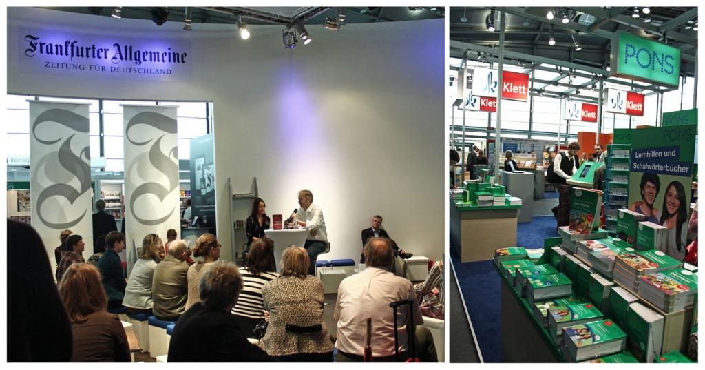 Verlagsstände - Buchmesse Leipzig