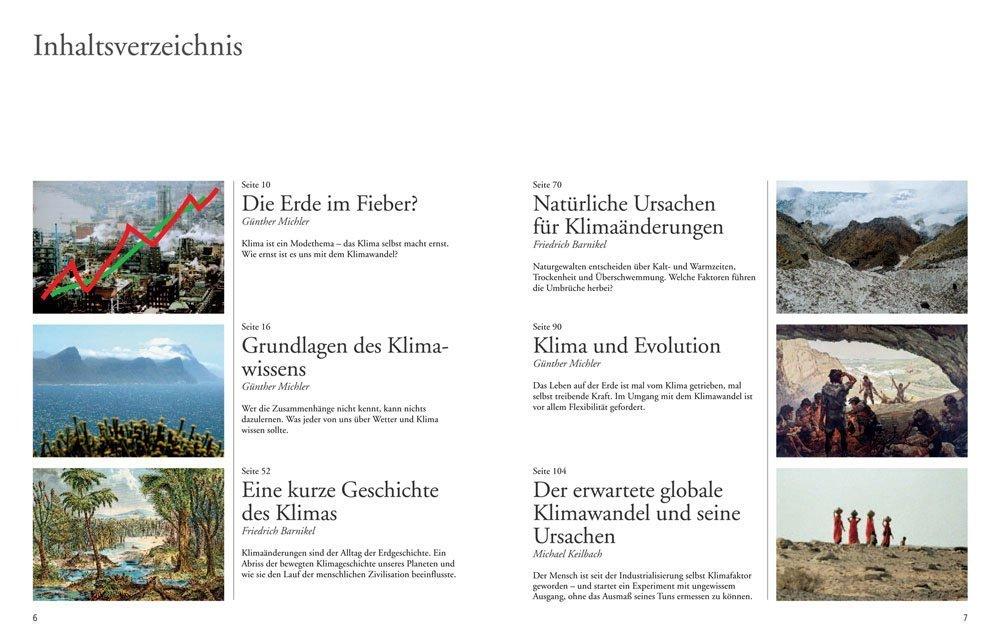 Inhaltsverzeichnis: Klimaschock