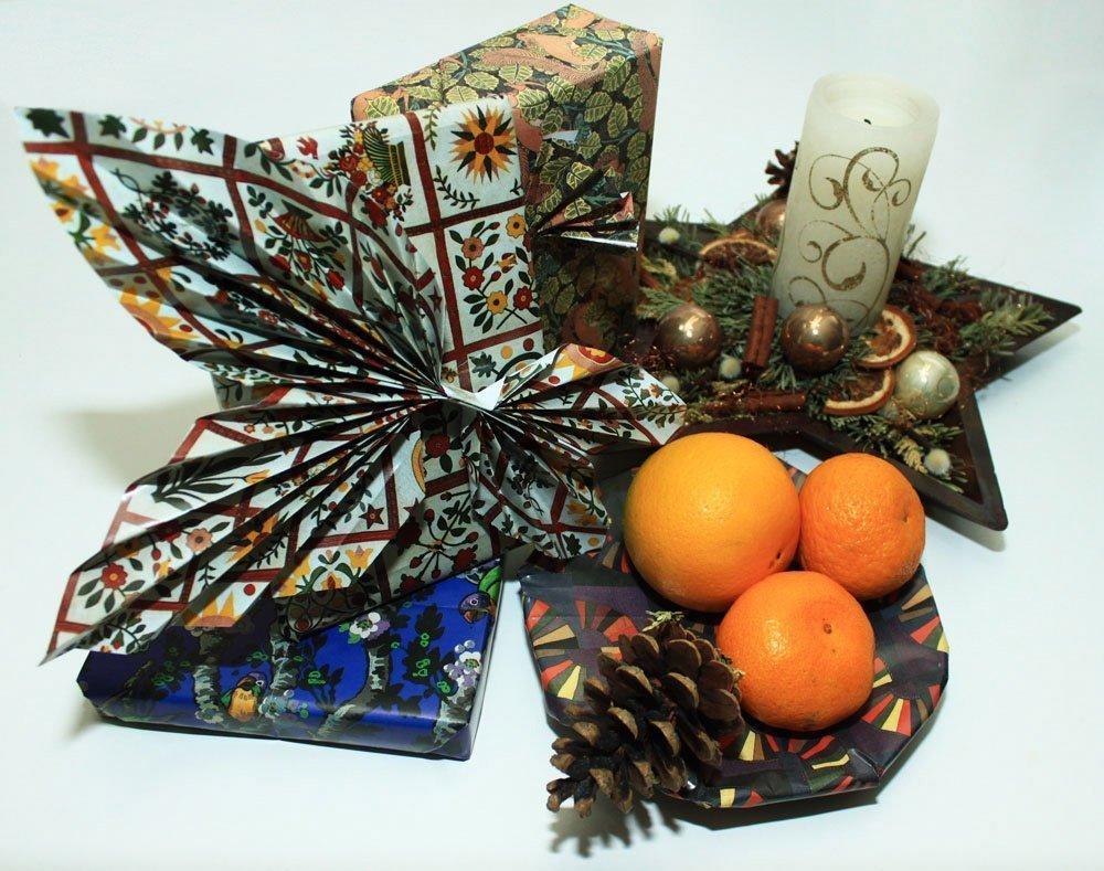 Kreativ verpacken: Weihnachtsgeschenk