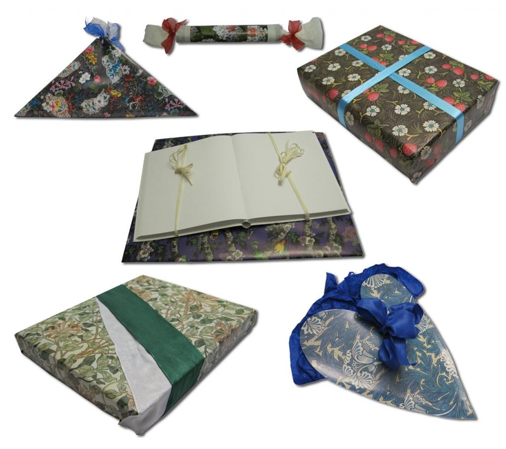 Verpackungsideen Geschenkpapiere h.f.ullmann