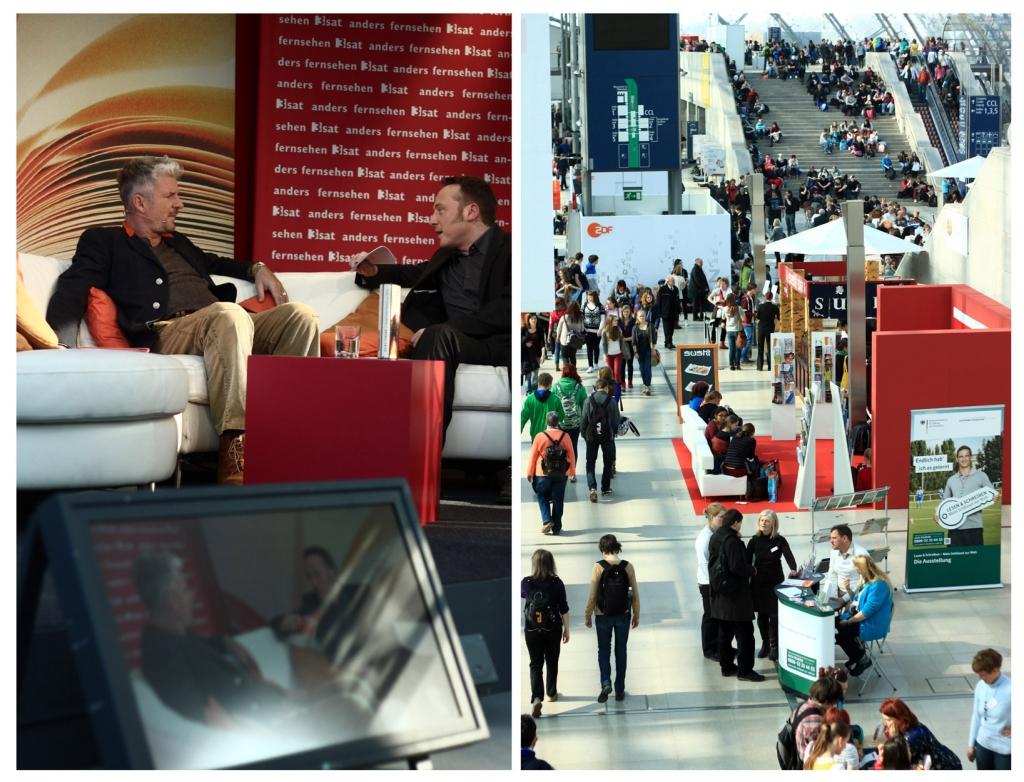 Heinz Strunk im Gespräch mit 3sat auf der Buchmesse
