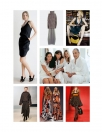 Mode, Frauen, Designer, Kleid