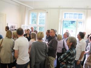 18:00: Eröffnung der Buchpräsentation in der Villa Quandt…
