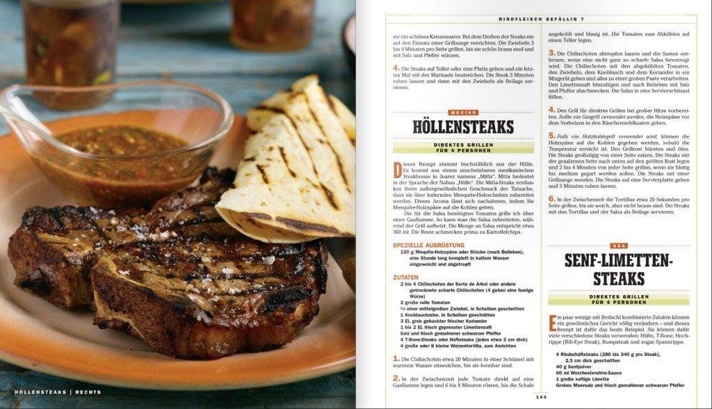 Fleisch-Rezept - Höllensteaks