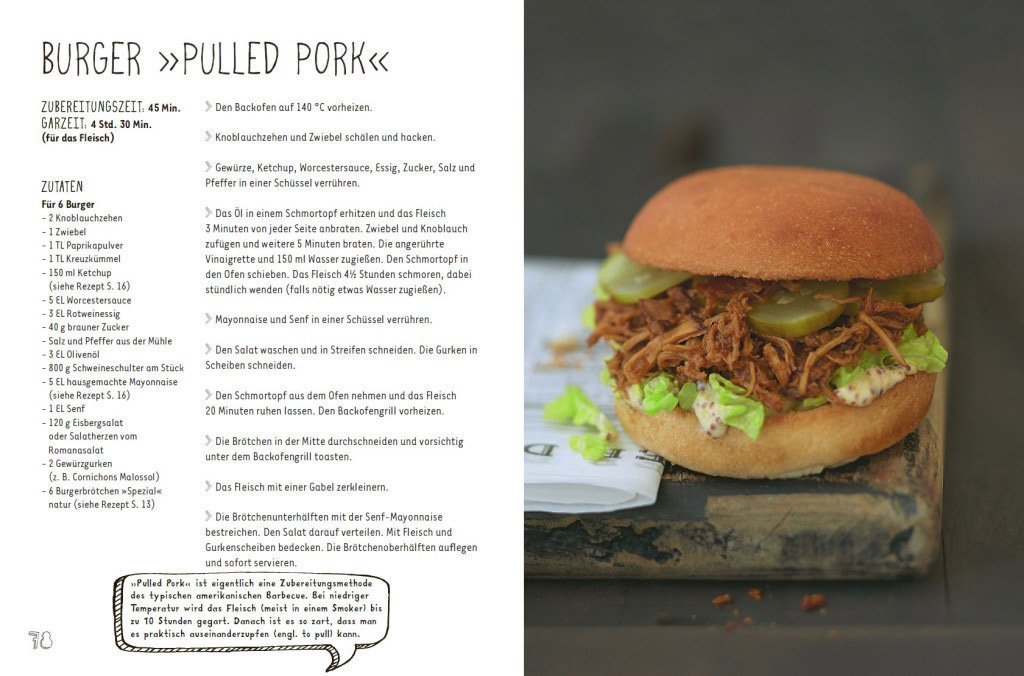 "Rezept: Burger ""Pulled Pork"""