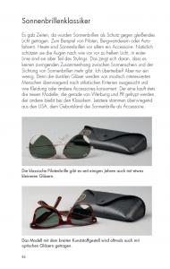 Sonnenbrillenklassiker - aus der Gentleman Agenda 2016