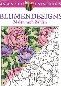Malen und entspannen: Blumendesigns