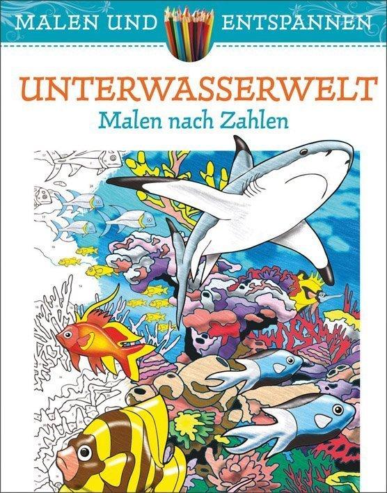 Entspannende Motive Aus Der Unterwasserwelt Malen