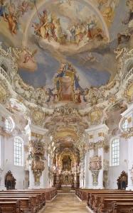 Der prachtvolle Innenraum der Wieskirche, Foto: © Joachim Bednorz