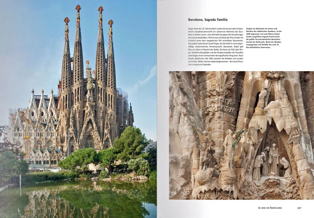 Eine der beeindruckendsten Kathedralen Europas: die Sagrada Família in Barcelona