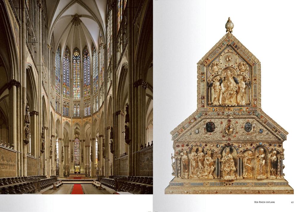 Der Kölner Dom: das imposante Mittelschiff und prachtvolle Kunstschätze