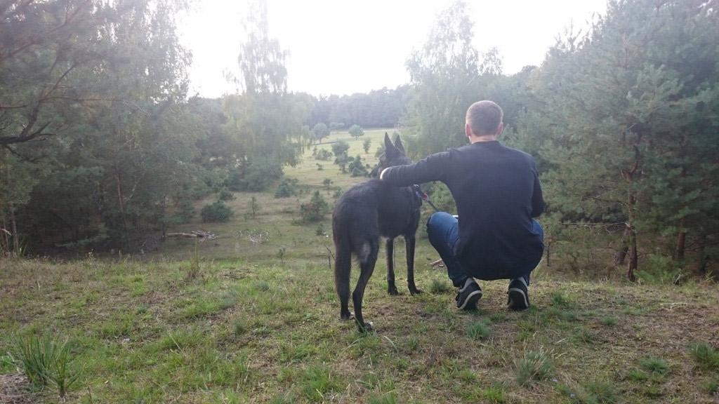 Ausflug mit Hund, Wildgehege Glauer Tal