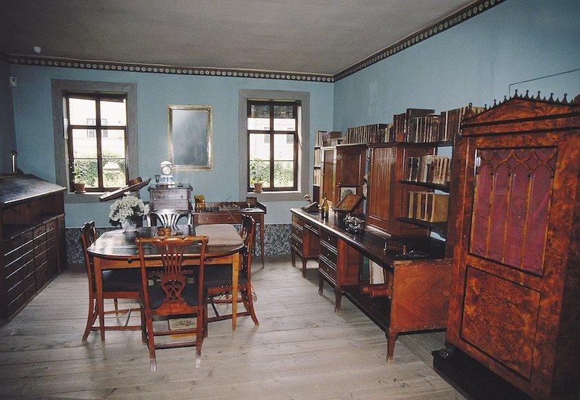 Heute zum Museum umgebaut: Goethes Wohnhaus / Foto: © Gerold Jung, Ottobrunn