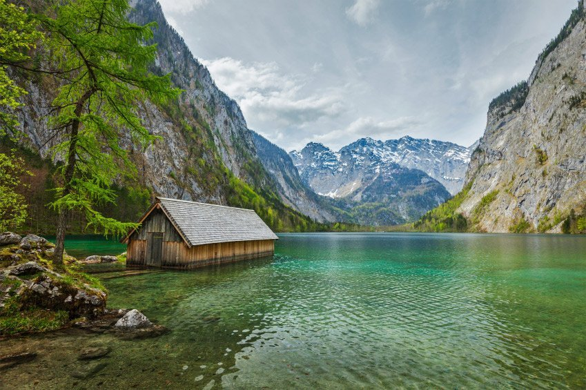Der traumhafte Obersee in Bayern, © f9photos/iStockphoto