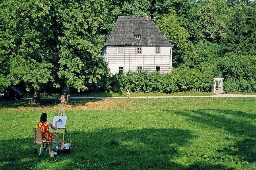 Park an der Ilm / Foto: © Gerold Jung, Ottobrunn