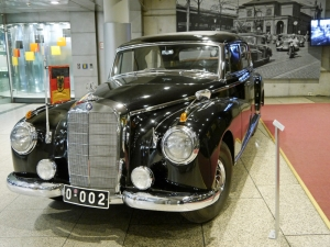 Im Haus der Geschichte: Adenauers Mercedes