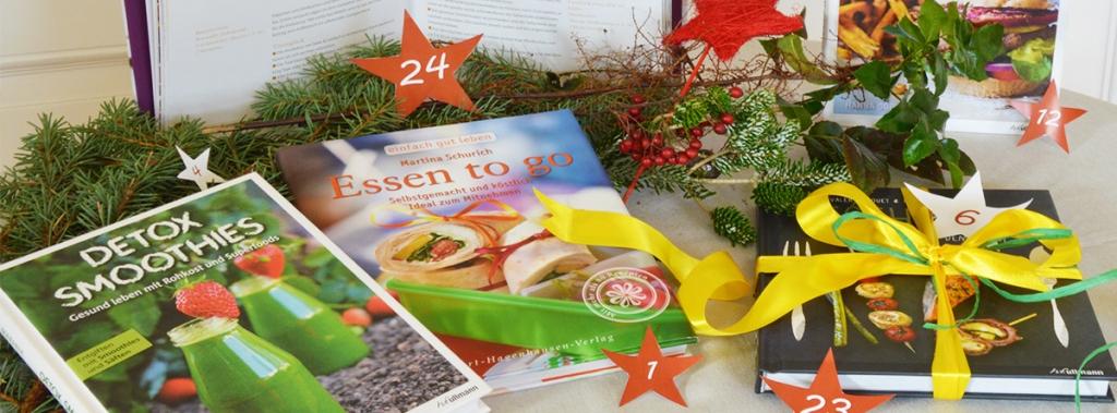 Unser Gewinnspiel auf Facebook: Gewinne in unserem Adventskalender tolle Bücher!