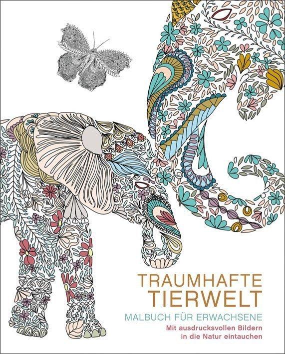 Malbuch Traumhafte Tierwelt - Ullmann Medien