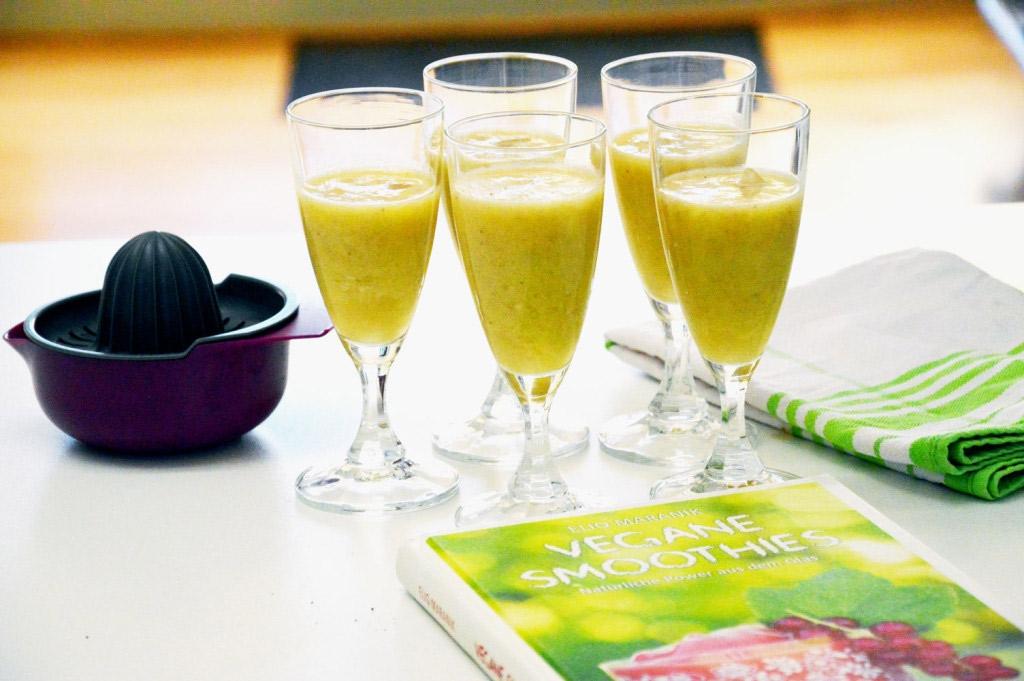 Für eine gesunde Ernährung - Vegane Smoothie-Rezepte