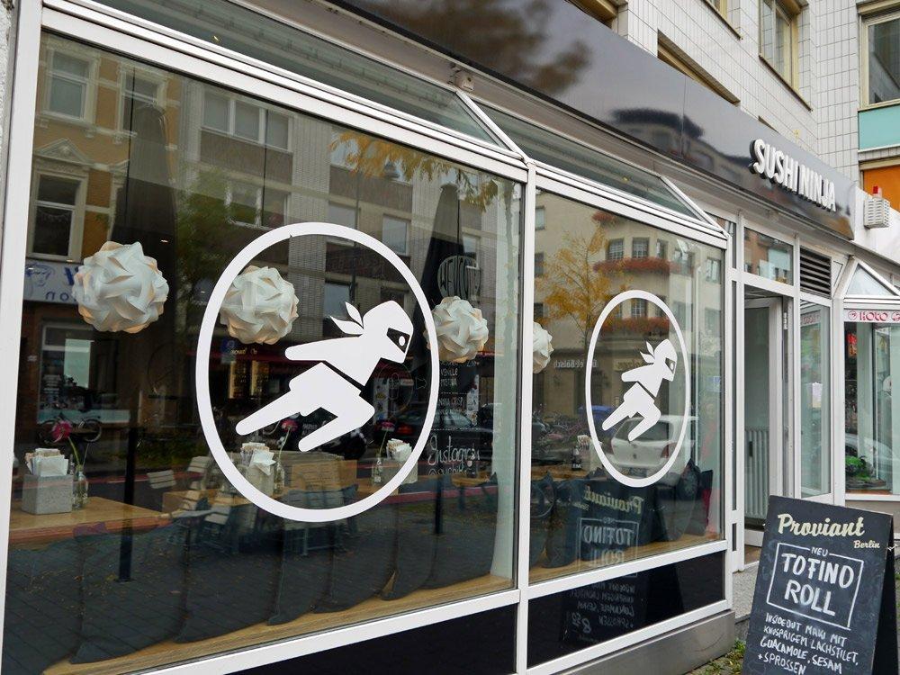 Moderne japanische Kochkultur. Sushi Ninja, Venloer Str. 241-245 in Köln-Ehrenfeld