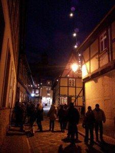 Fachwerk-Romantik auf dem Christkindlesmarkt in Nürnberg