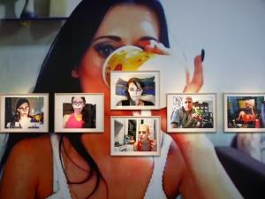 """Blick in die Ausstellung """"Ego-Update"""""""