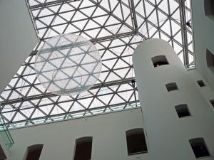 Beeindruckende Glaskuppel im K21