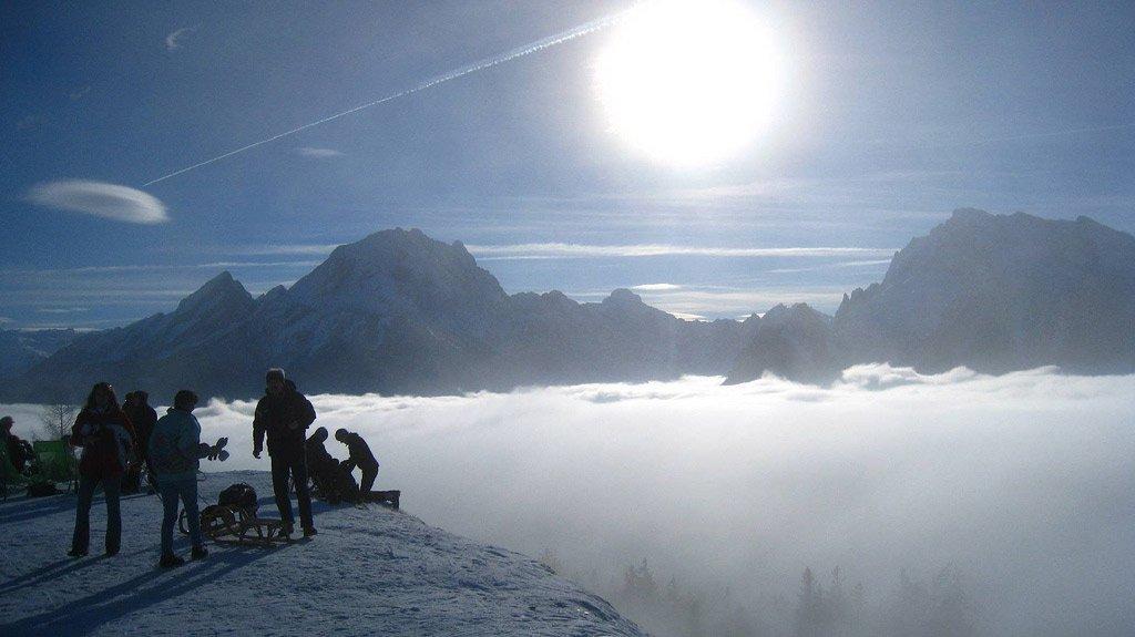 Perfektes Winter-Ausflugsziel für Rodler: die Berchtesgadener Alpen. Foto: © factotum/Flickr