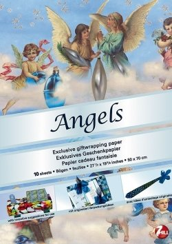 Giftwrap Papers: Angels