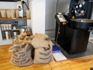 Hier wird noch selbst Kaffee geröstet!