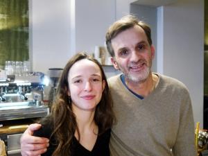 Die Inhaber des Café Röstwerk