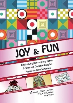 Giftwrap Papers: Joy & Fun