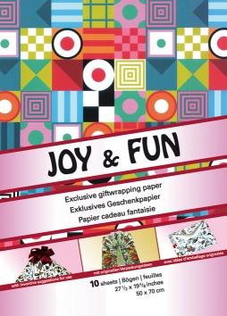 Giftwrap Papers: Joy & Fun