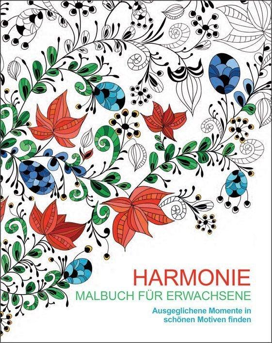 Malen und entspannen: Harmonie - Buch online kaufen - Ullmann Medien