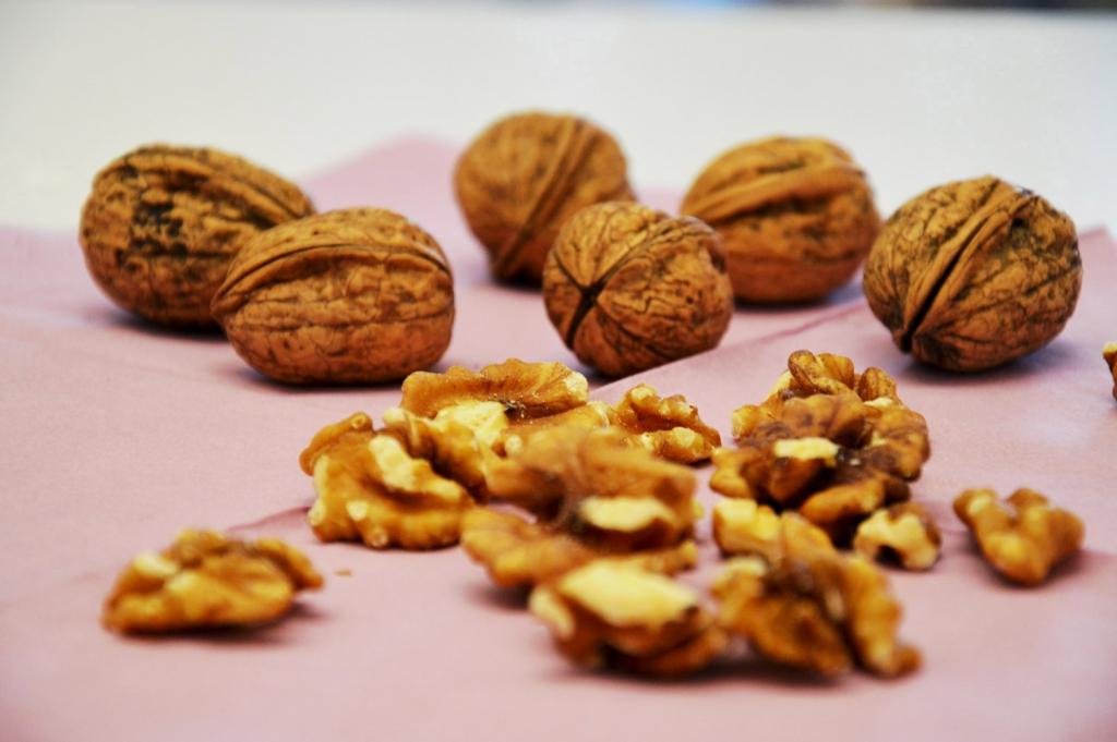 Snack und Energielieferant: Nüsse