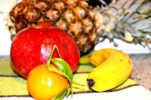 Fünf Portionen Obst oder Gemüse pro Tag genießen