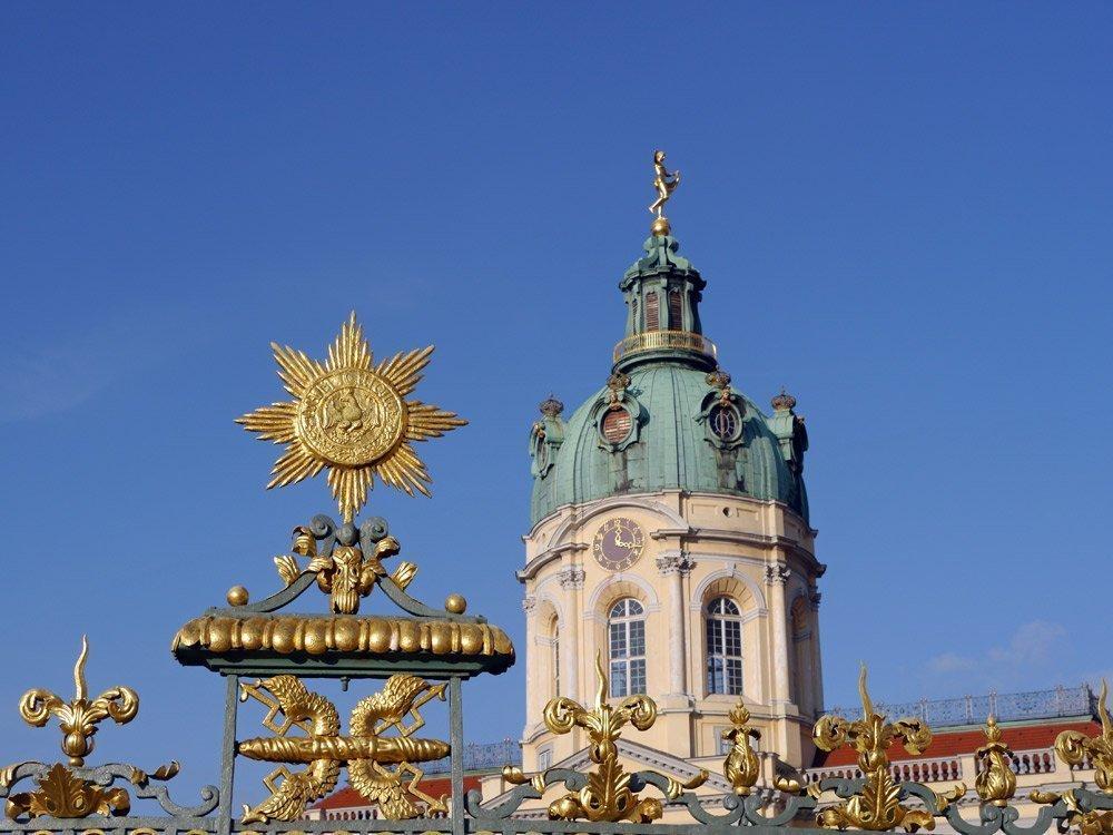 Das Schloss Charlottenburg. Eingang zum Museum: Spandauer Damm 20-24, 14059 Berlin
