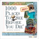 Tageskalender 2017: 1000 Places To See Befor You Die
