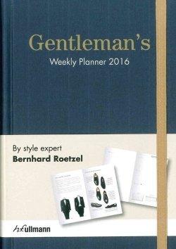 Gentleman's Weekly Planner 2016