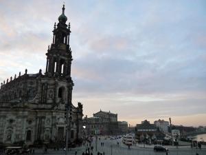 Die Dresdner Hofkirche