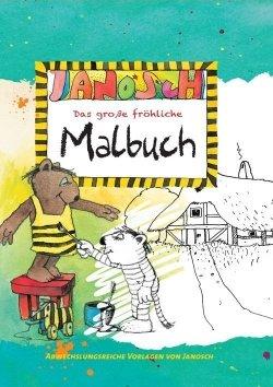 Janosch – Das große fröhliche Malbuch