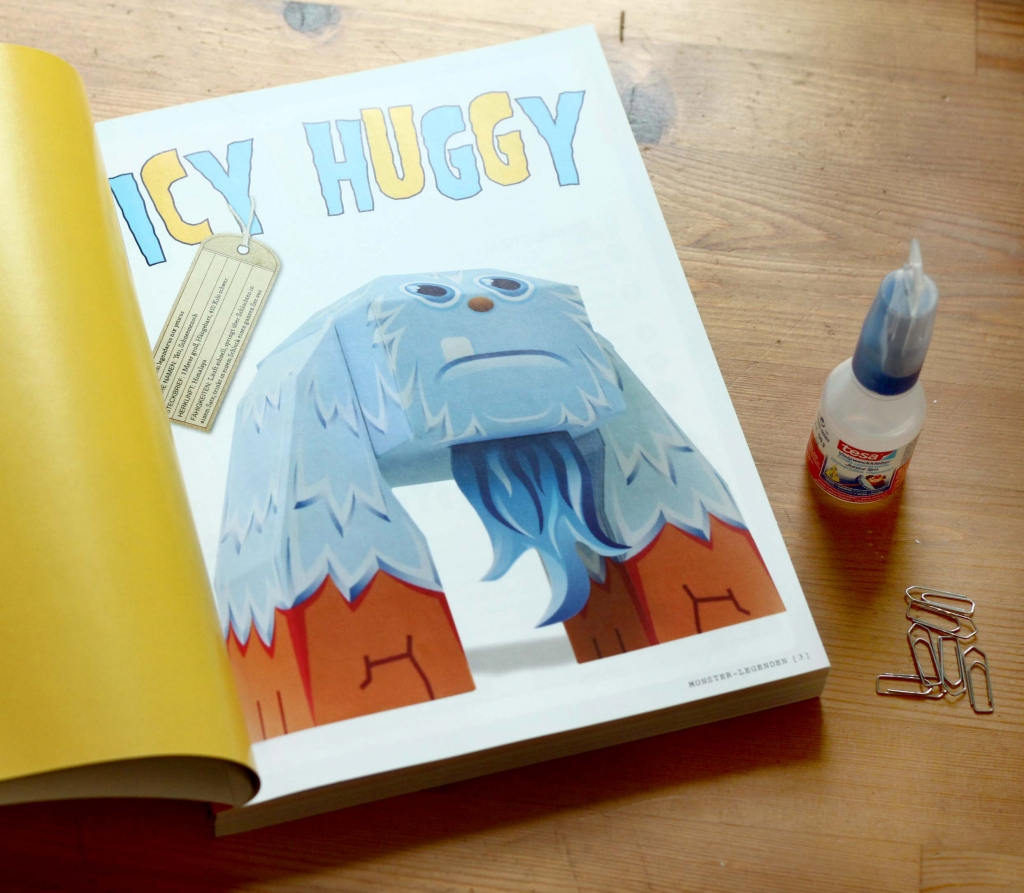 Papiermonster - Icy Huggy