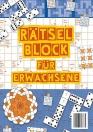 Beschäftigungsblock: Rätselblock für Erwachsene
