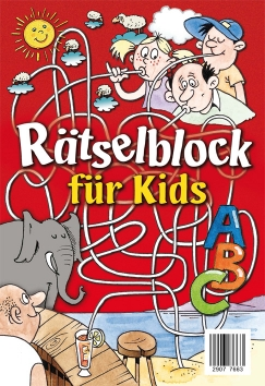Beschäftigungsblock: Rätselblock für Kids