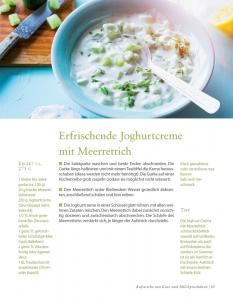 Erfrischende Joghurtcreme