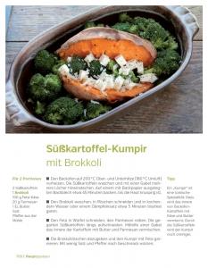 Rezept: Süßkartoffel-Kumpir mit Brokkoli